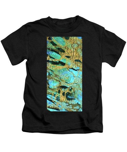 Abstract Art - Deeper Visions 3 - Sharon Cummings Kids T-Shirt