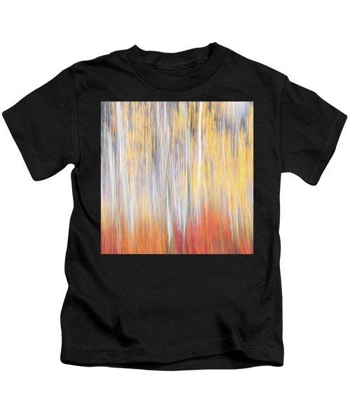 Abstract Autumn Kids T-Shirt