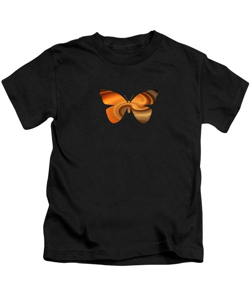 Abstract Butterfly Kids T-Shirt