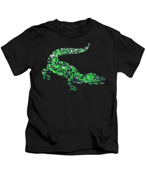 Abstract Crocodile Kids T-Shirt