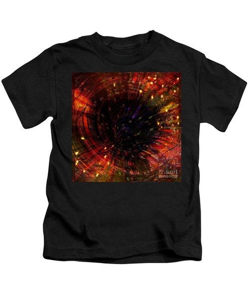 Abstract Fire  Flyer Nest Kids T-Shirt