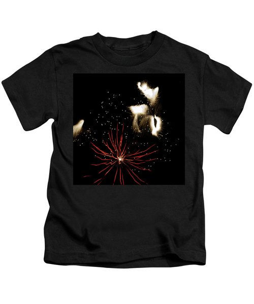 Abstract Fireworks IIi Kids T-Shirt