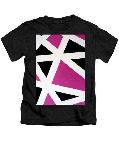Abstract M1015bp Kids T-Shirt