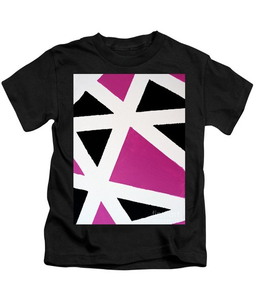 Abstract M1015bp Kids T-Shirt