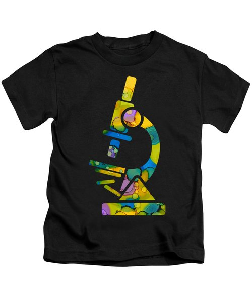 Abstract Microscope Party Kids T-Shirt