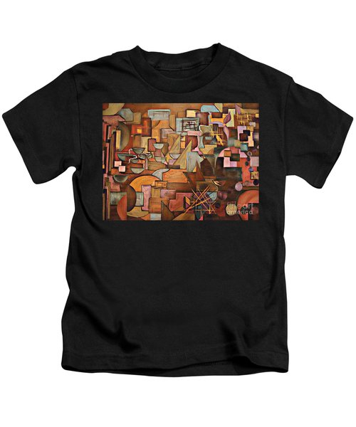 Abstract Mind Kids T-Shirt