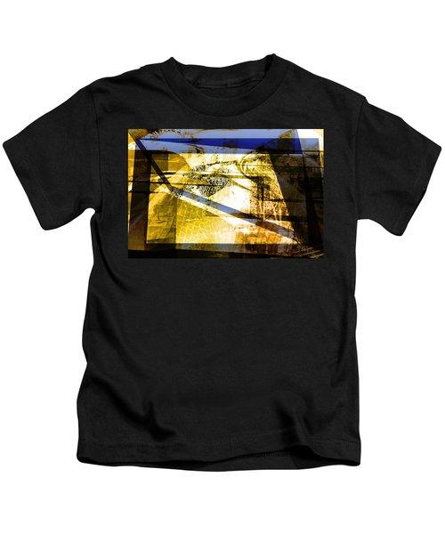 Abstract Mosaic Kids T-Shirt