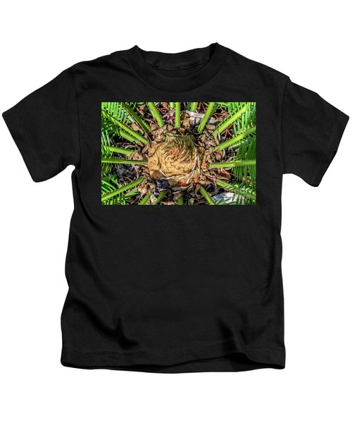Abstract Nature Tropical Fern 2096 Kids T-Shirt