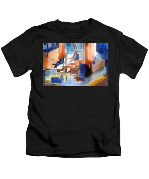 Abstract- Peggy's Cove Kids T-Shirt