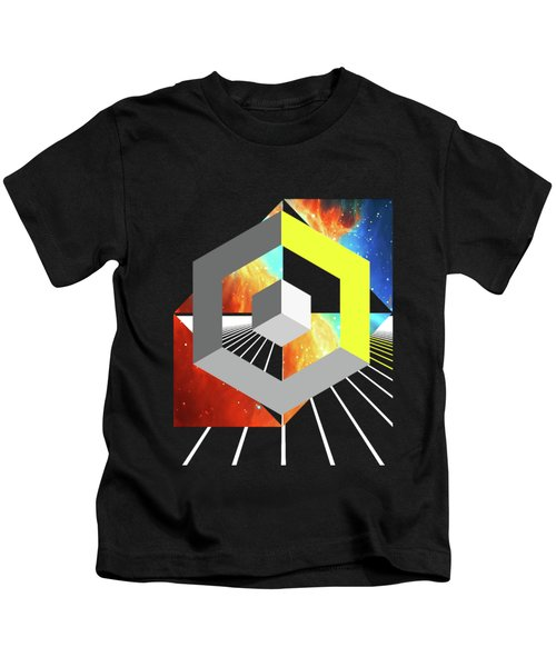 Abstract Space 4 Kids T-Shirt by Russell K