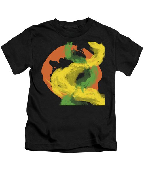 Abstractitude Of Lines Kids T-Shirt