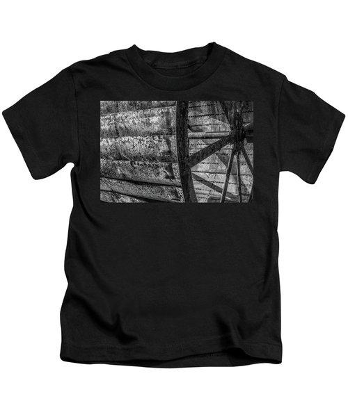 Adam's Mill Water Wheel Kids T-Shirt