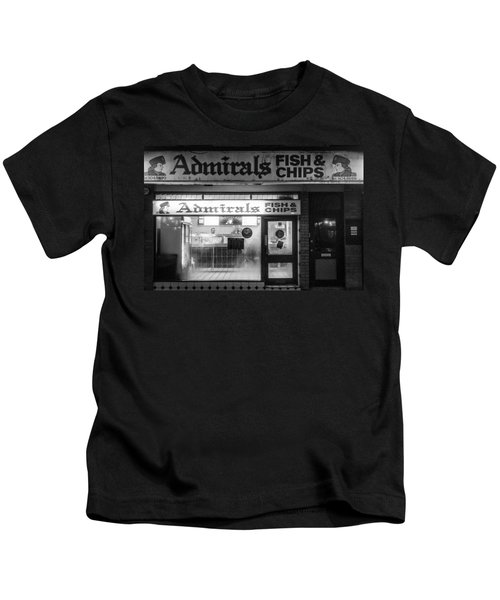 Admirals Fish And Chips Kids T-Shirt