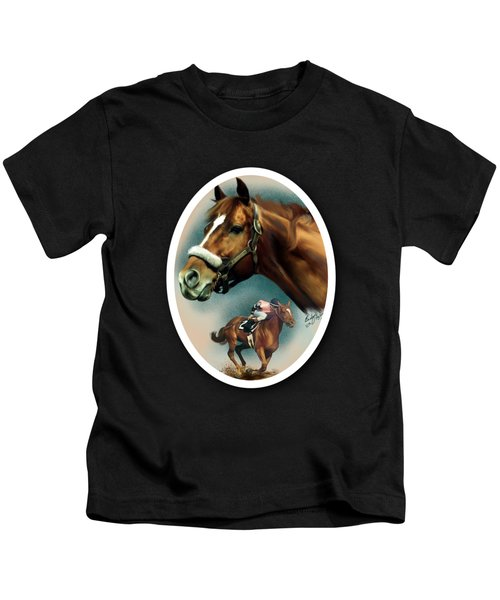 Affirmed With Name Decor Kids T-Shirt