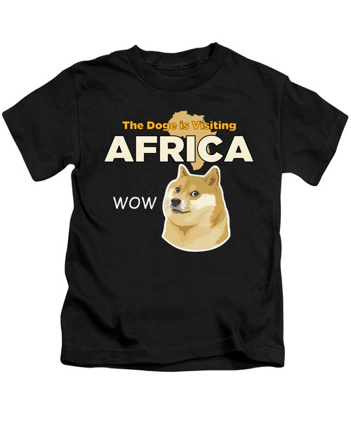 Africa Doge Kids T-Shirt by Michael Jordan