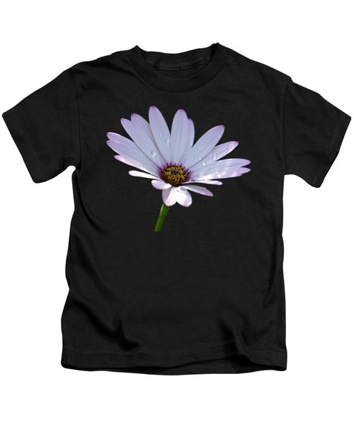 African Daisy Kids T-Shirt by Scott Carruthers