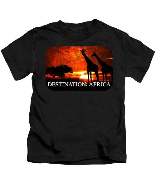 African Safari Kids T-Shirt