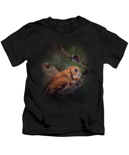 After The Acorns Fall Kids T-Shirt