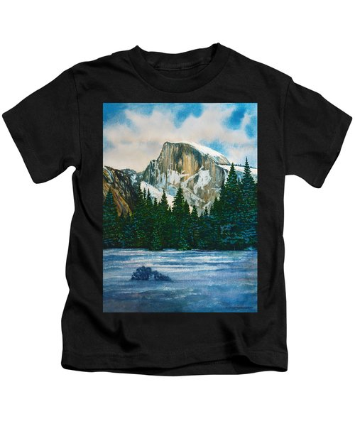 After The Snowfall, Yosemite Kids T-Shirt