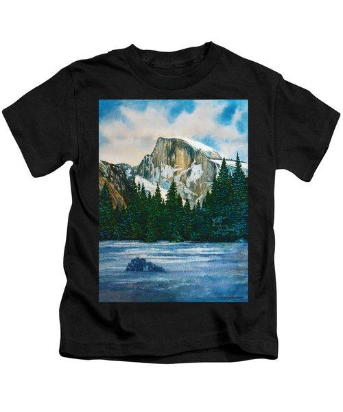 After The Snowfall, Yosemite Kids T-Shirt