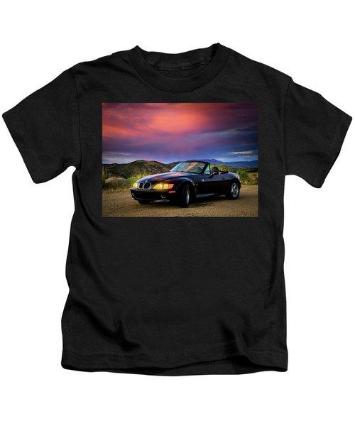 After The Storm - Bmw Z3 Kids T-Shirt