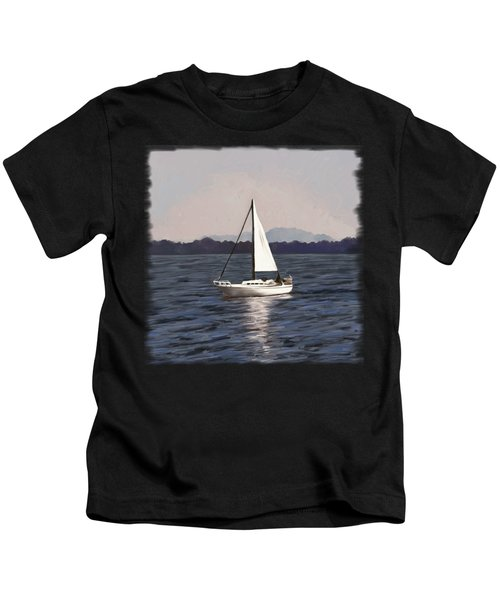 Afternoon Sail Kids T-Shirt