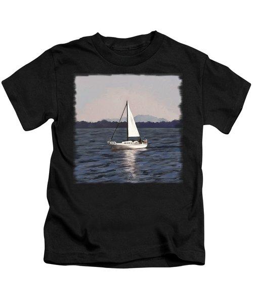 Afternoon Sail Kids T-Shirt
