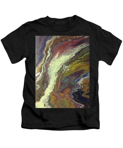 Agate Waterfall Kids T-Shirt