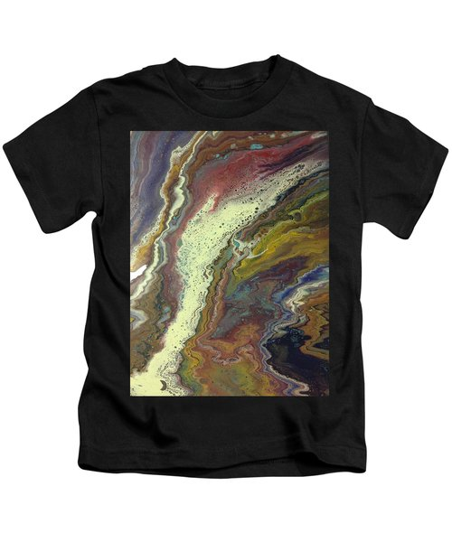 Agate Waterfall Kids T-Shirt
