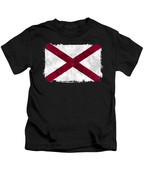 Alabama Flag Kids T-Shirt