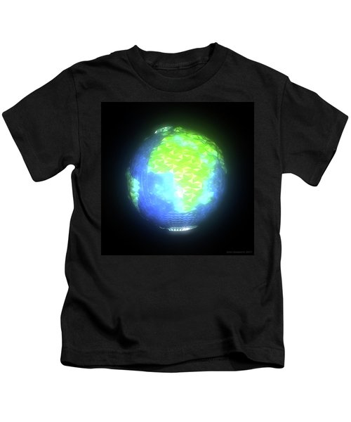 Albedo - Africa And Europe By Day Kids T-Shirt