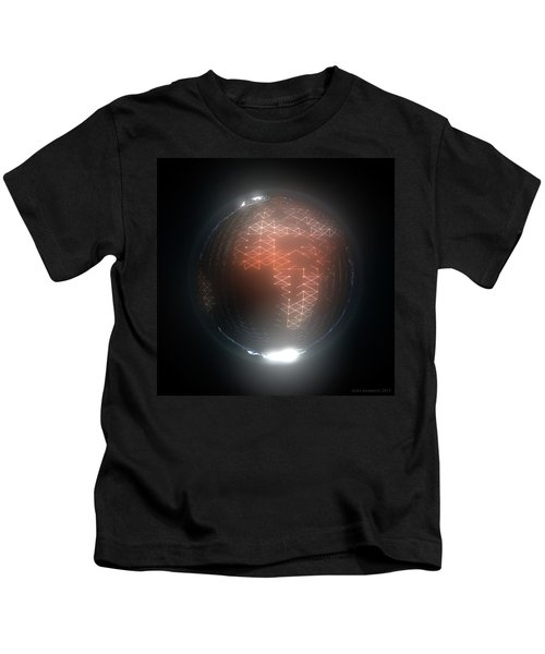 Albedo - Africa And Europe By Night Kids T-Shirt