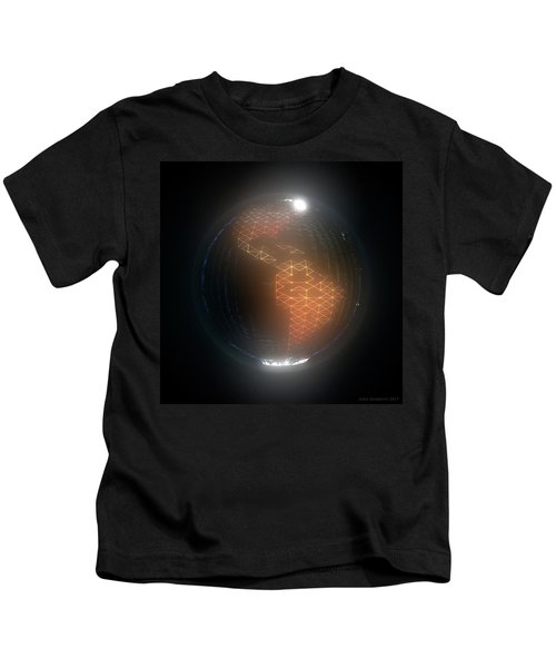 Albedo - Americas By Night Kids T-Shirt
