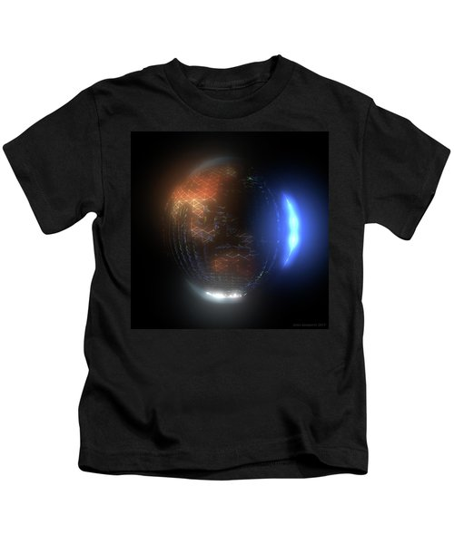 Albedo - Transition From Night To Day Kids T-Shirt