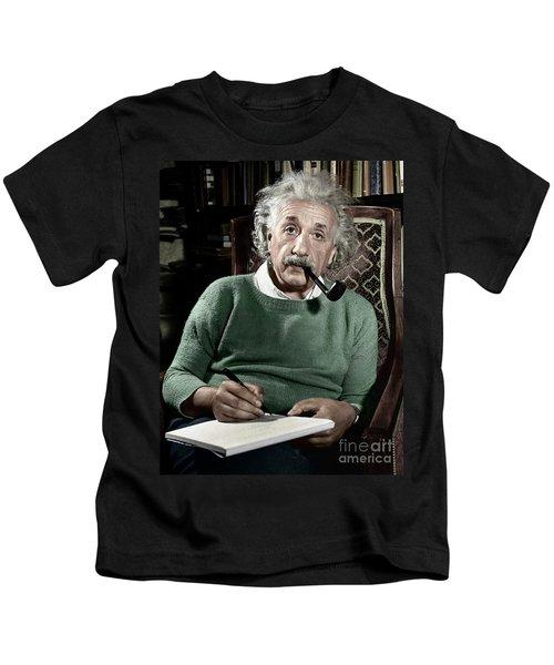 Albert Einstein Kids T-Shirt
