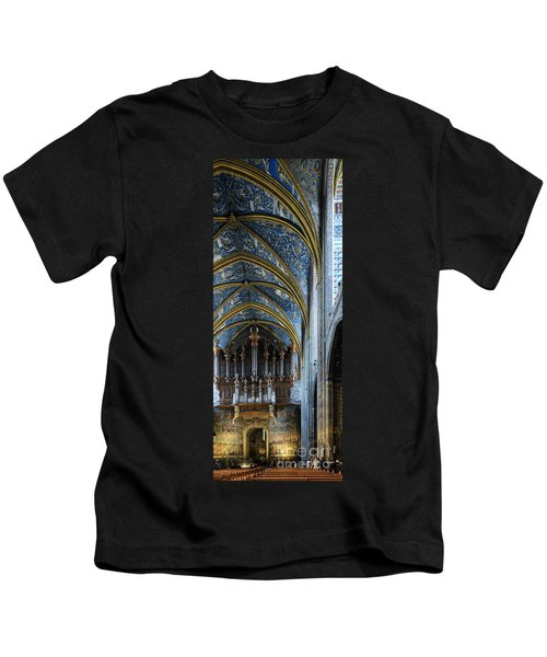Albi Cathedral Nave Kids T-Shirt