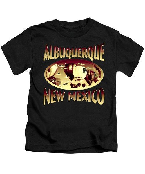Albuquerque New Mexico Design Kids T-Shirt