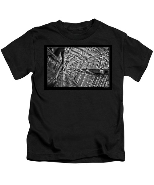 Alcatraz The Cells Kids T-Shirt