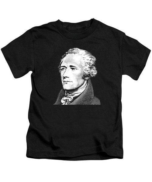 Alexander Hamilton - Founding Father Graphic 2 Kids T-Shirt