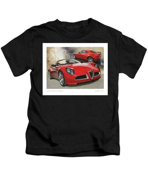 Alfa Romeo 8c Competizione Kids T-Shirt