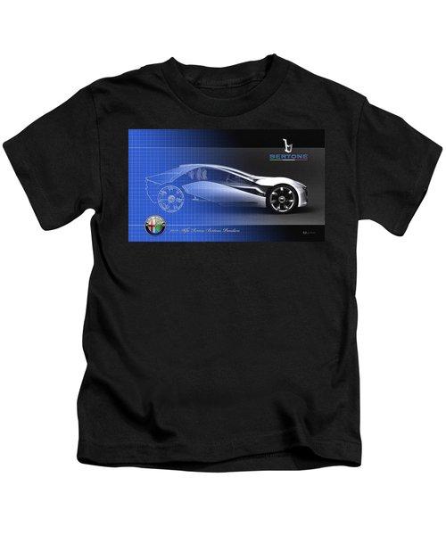 Alfa Romeo Bertone Pandion Concept Kids T-Shirt