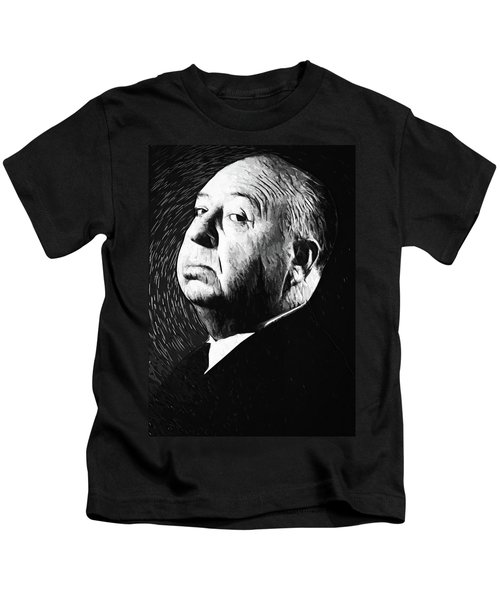 Alfred Hitchcock Kids T-Shirt