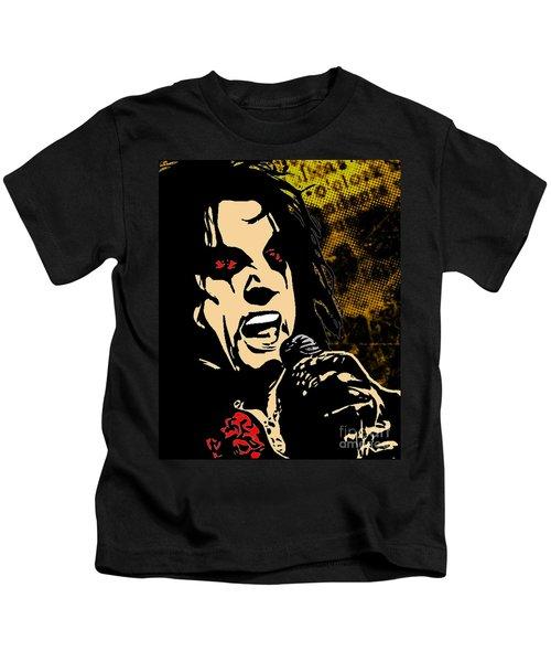 Alice Cooper Illustrated Kids T-Shirt