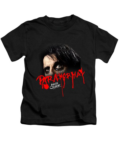 Alice Cooper Paranormal Face Kids T-Shirt