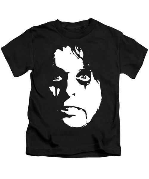 Alice Cooper Pop Art Kids T-Shirt
