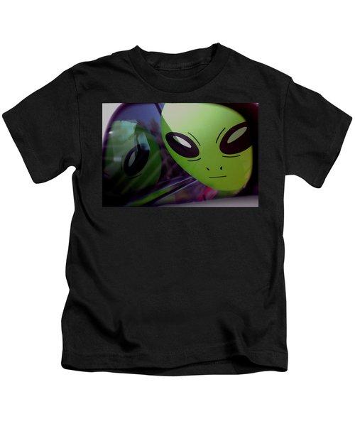 Alien Is Closer Than He Appears Kids T-Shirt