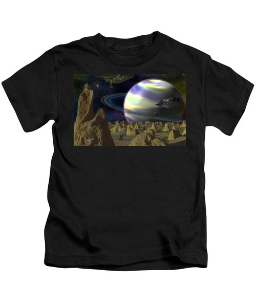 Alien Repose Kids T-Shirt
