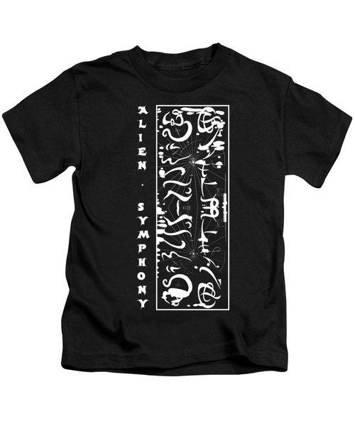 Alien Symphony T Shirt Kids T-Shirt