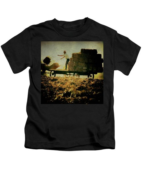 All In A Day's Work Kids T-Shirt