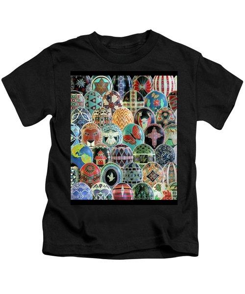 All Ostrich Eggs Collage Kids T-Shirt
